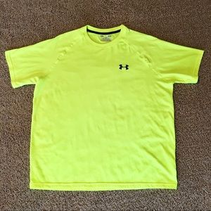 Under Armour Shirts - Mens Under Armour Dri Fit Size L Tee Shirt